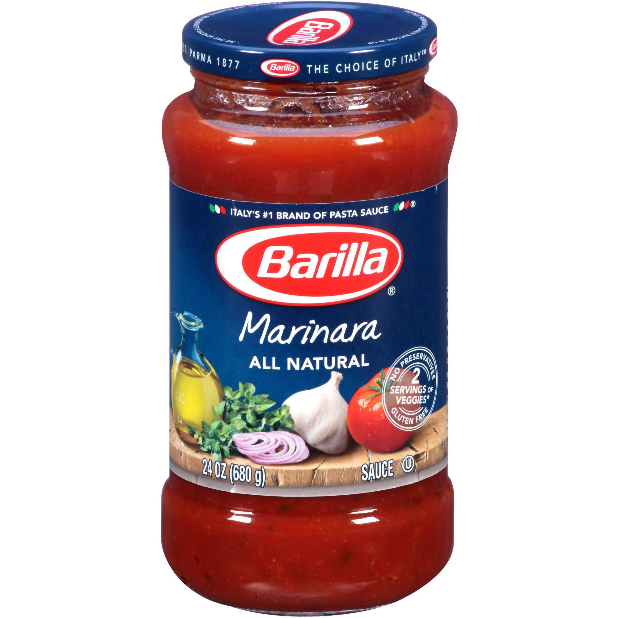 Barilla Marinara Pasta Sauce, 24 oz - Walmart.com