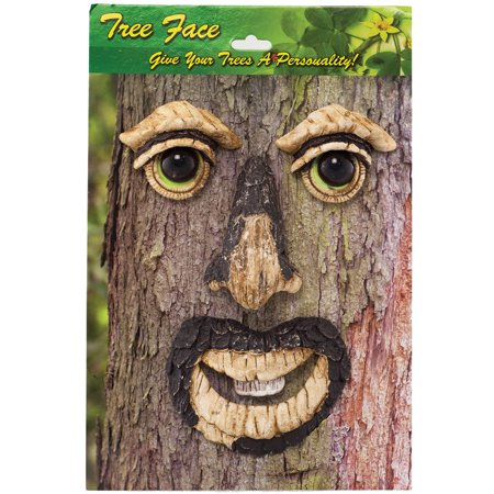 Glow In The Dark Face (Whimsical 4 Piece Mr. Tree Face Gives Charm, Personality & Glows In The)