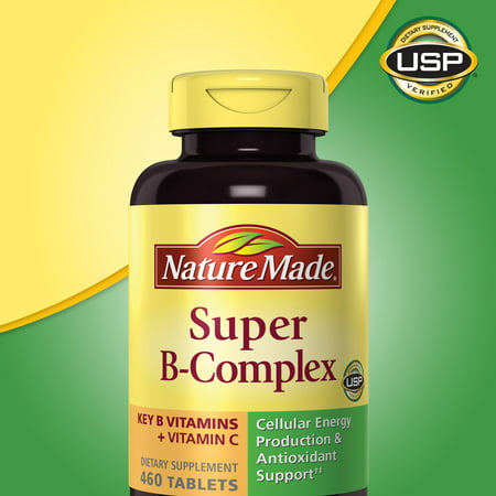 - Nature Made Super B-Complex 460 Tablets