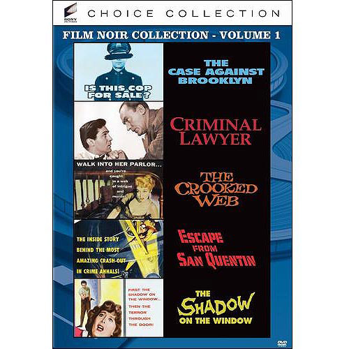 Sony Film Noir Collection, Vol. 1 - The Case Against Broo...