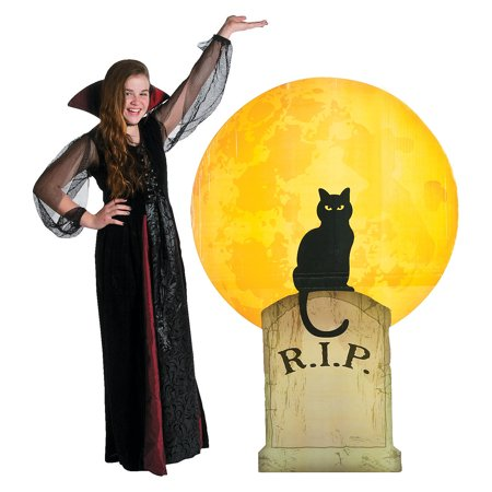 Fun Express - Halloween Cat Standup for Halloween - Party Decor - Large Decor - Floor Stand Ups - Halloween - 1 Piece