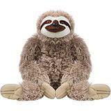Stuffed Zoo Animals (Cuddlekins Jumbo Sloth Plush Stuffed Animal by Wild Republic, Kid Gifts, Zoo Animals, 30)