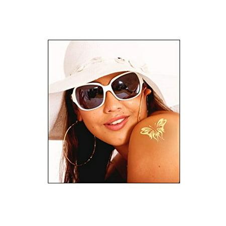 Mom Heart Tattoos (SUNGODDESS Golden Temporary Tattoos (Butterflies &)