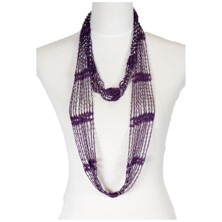 Womens Beaded Embroidered Shawl - Women's Laies Fshion Long Fishnet Beaded Infinity Scarf Neck Scarves Shawl Wrap