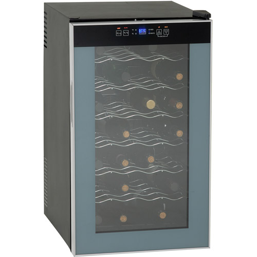 Avanti 28-Bottle Wine Cooler, Black