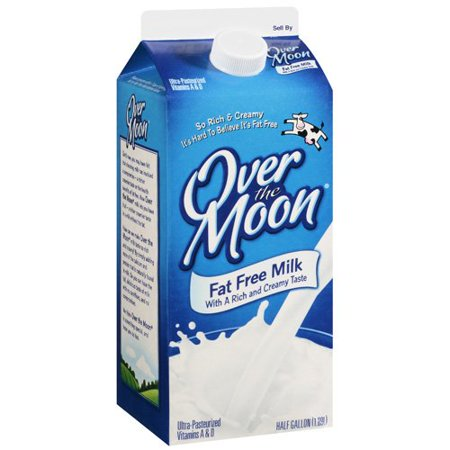 Over The Moon Fat Free Milk 14