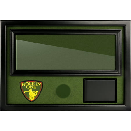 """ProActive Sports Black Hole in One Golf Ball and Scorecard Display (15.5"""" x 11"""") - Golf Hole In One Gifts"""