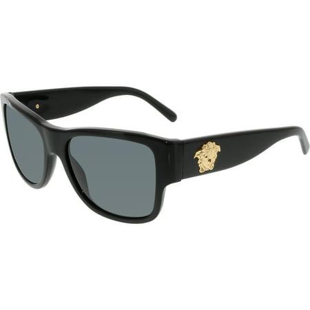 Women's VE4275-GB1/87-58 Black Square Sunglasses