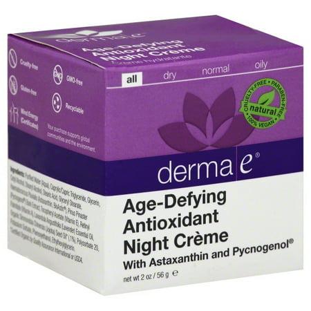 Derma E Age-Defying Night Cream, 2 Oz