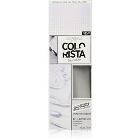 L'Oreal Paris Colorista Semi-Permanent for Light Blonde or Bleached Hair - Silver Hair Paint