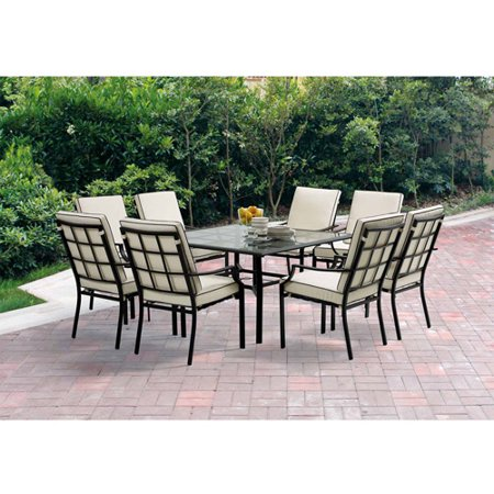 barcelona 9 piece patio dining set grey box 2 of 3