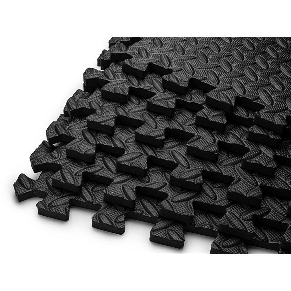 Hemingweigh Puzzle Exercise Mat Eva Foam Interlocking
