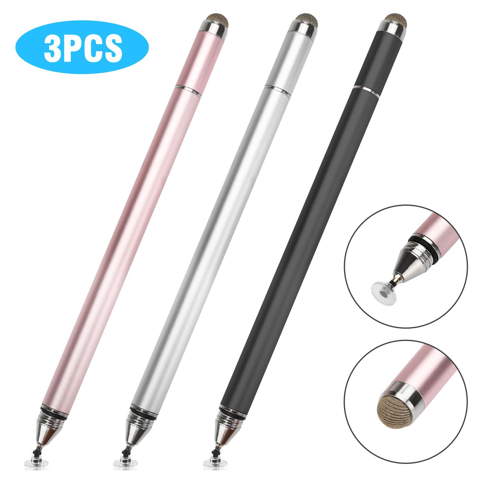 Broonel Grey Fine Point Digital Active Stylus Pen Compatible with The Wallmart Onn 10.1 Tablet