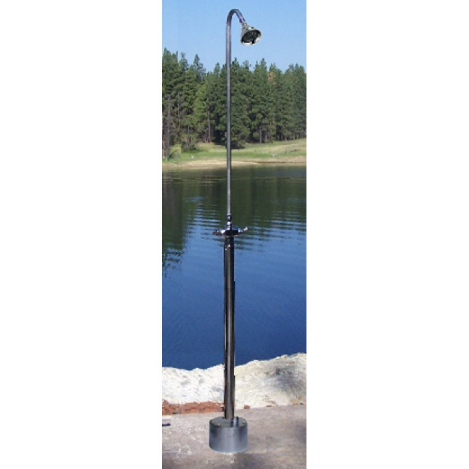 Outdoor Shower Company Hot & Cold Free Standing Shower