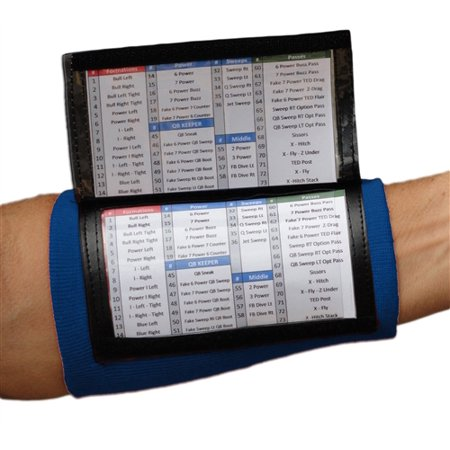 Adult Playbook Wristband - Wrist Coach X200  Navy](Dance Wristbands)
