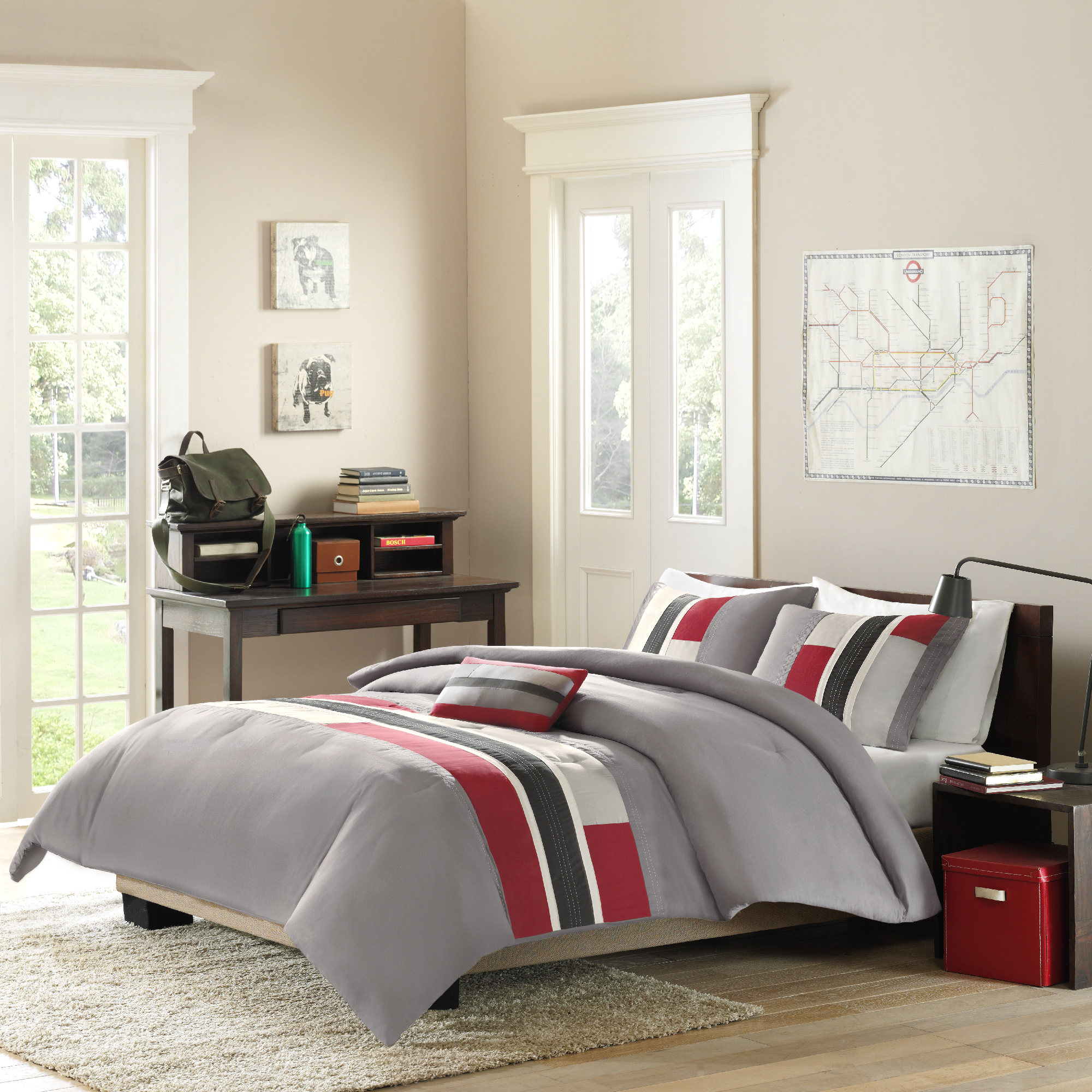 Home Essence Teen Maverick Ultra Soft Comforter Bedding Set