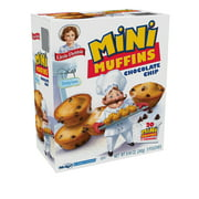 Little Debbie Family Pack Chocolate Chip Mini Muffins, 8.44 oz