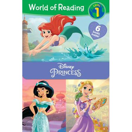 (World of Reading Disney Princess Level 1 Boxed Set)