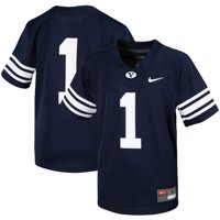 #1 BYU Cougars Nike Youth Untouchable Football Jersey - Navy