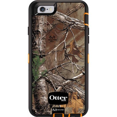 huge selection of 4a937 2c626 OtterBox Defender Series Case for iPhone 6/6s, Realtree Xtra Blaze