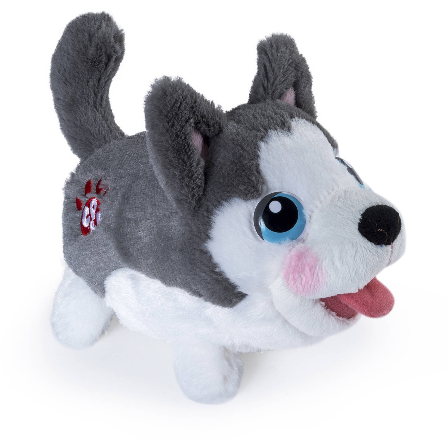 Chubby Puppies Plush, Husky
