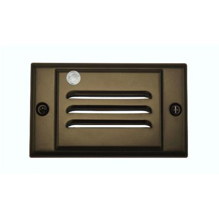 Horizontal Faceplate for LED Step Light with Photocell - Oil-Rubbed Bronze - image 1 de 1