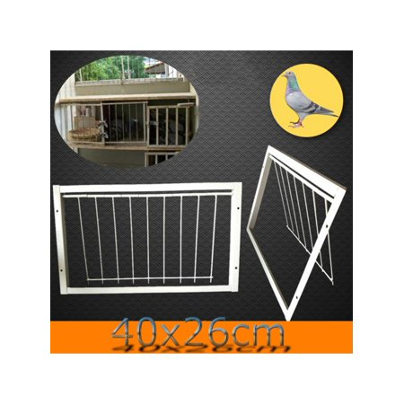 Aimeeli Wires Bars on Frame Racing Pigeon Entrance Fantails Tumbler Loft Bird Supply 40x26cm