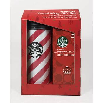 3-Pieces Starbucks Travel Mug with Cocoa Gift Set