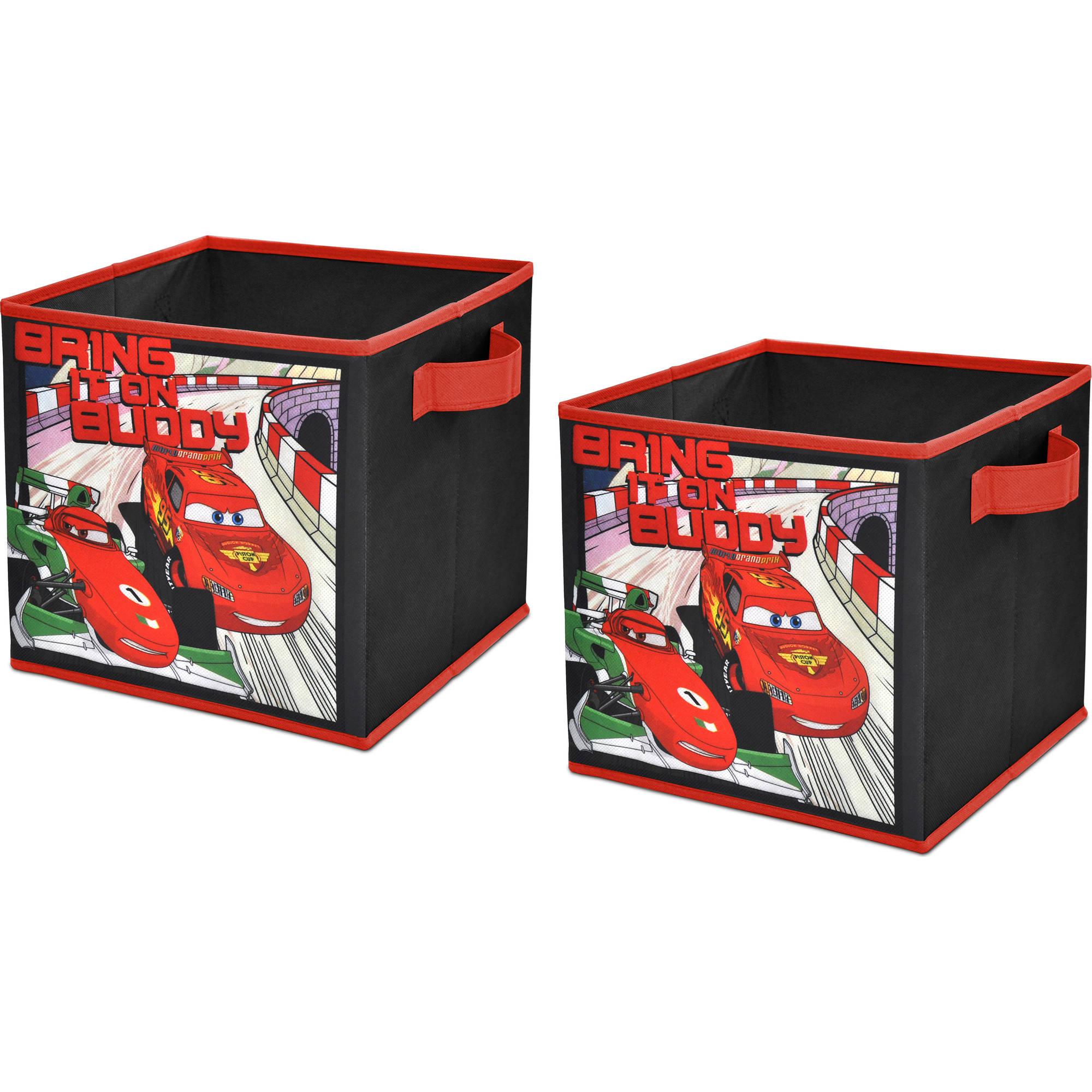 Disney Cars 2-Pack Storage Cube