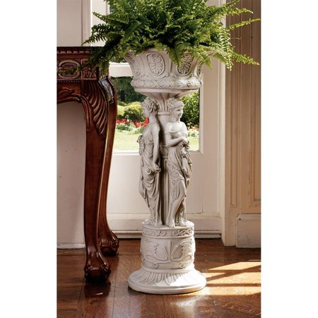 Design Toscano Chatsworth Manor Sculptural Neoclassical Pedestal