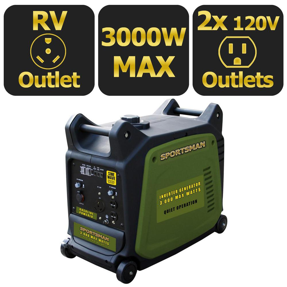 Sportsman 3000 Watt Inverter Generator by Buffalo Corp