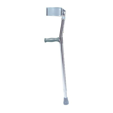 Drive Medical 10403 Steel Forearm Crutch Adult Drive Steel Forearm Crutches