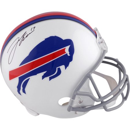 Josh Allen Buffalo Bills Autographed Riddell Replica Helmet - Fanatics Authentic Certified Buffalo Bills Autographed Helmets