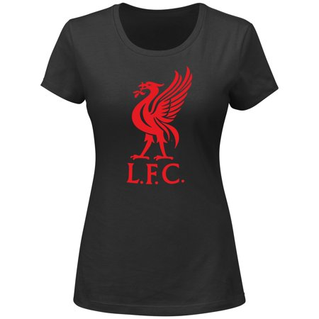 Liverpool Football Club Women's Black Official Logo