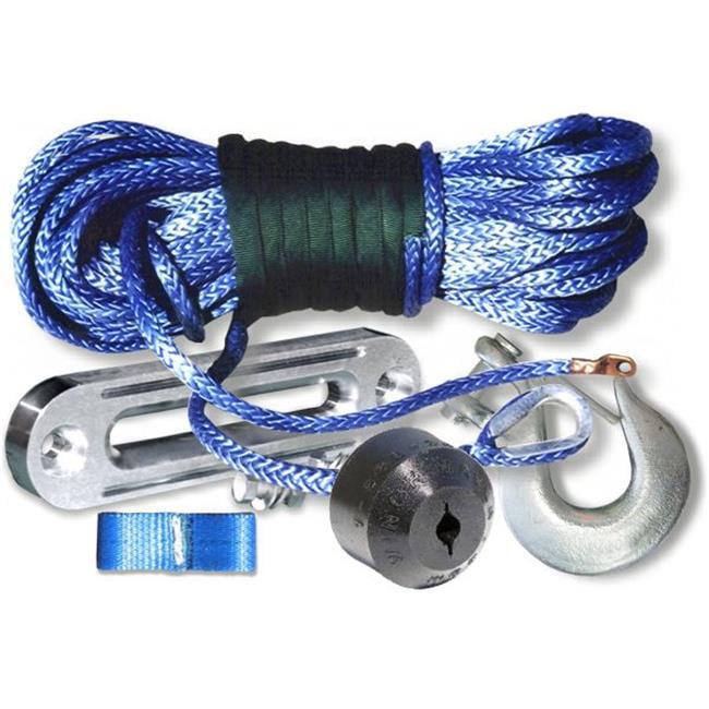 Billet ABBL516-K Amsteel Blue Winch Rope Kit with Mega Ho...