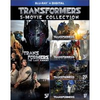 Deals on Transformers 5-Movie Collection Blu-ray + Digital