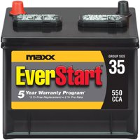 EverStart Maxx Lead Acid Automotive Battery, Group 35s