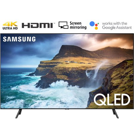 Samsung QN75Q70RA 75 Q70 QLED Smart 4K UHD TV 2019 Model - (Renewed)