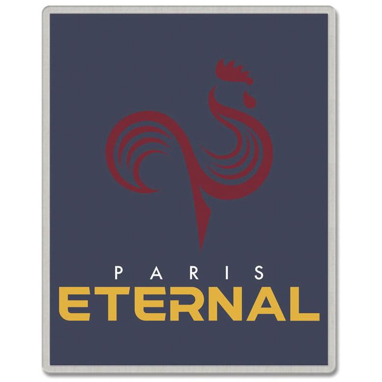 Paris Eternal WinCraft Rectangle Pin - No Size