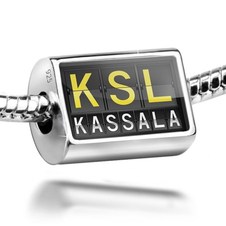 Bead Ksl Airport Code For Kassala Charm Fits All European Bracelets