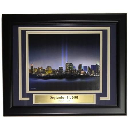 9/11 September 11, 2001 Twin Towers Framed 8x10 World Trade Center
