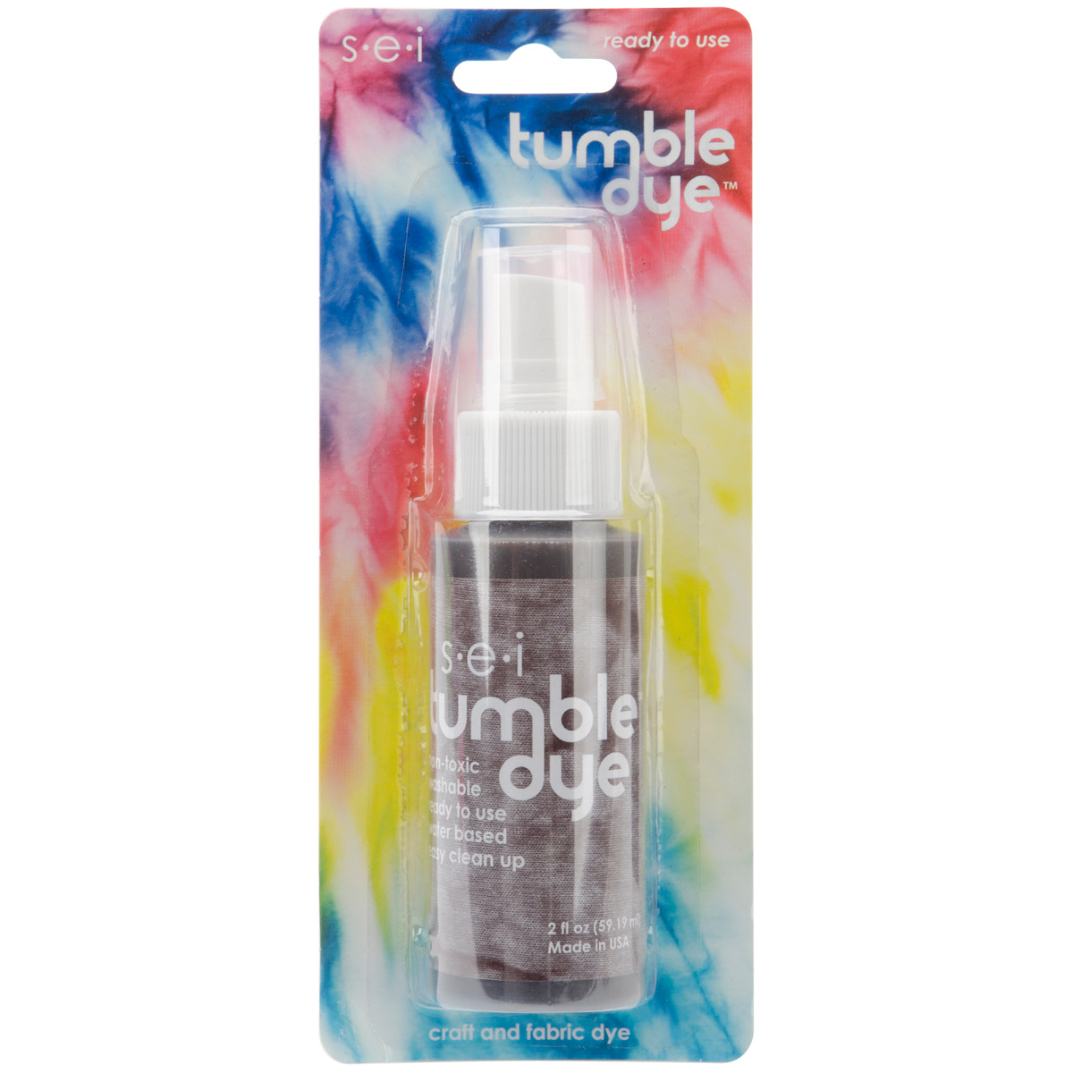 Tumble Dye Craft And Fabric Spray 2 Ounces-Walnut