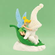 Department 56 Snowbabies 4038098 Tinkerbell Sledding With Tink 2014