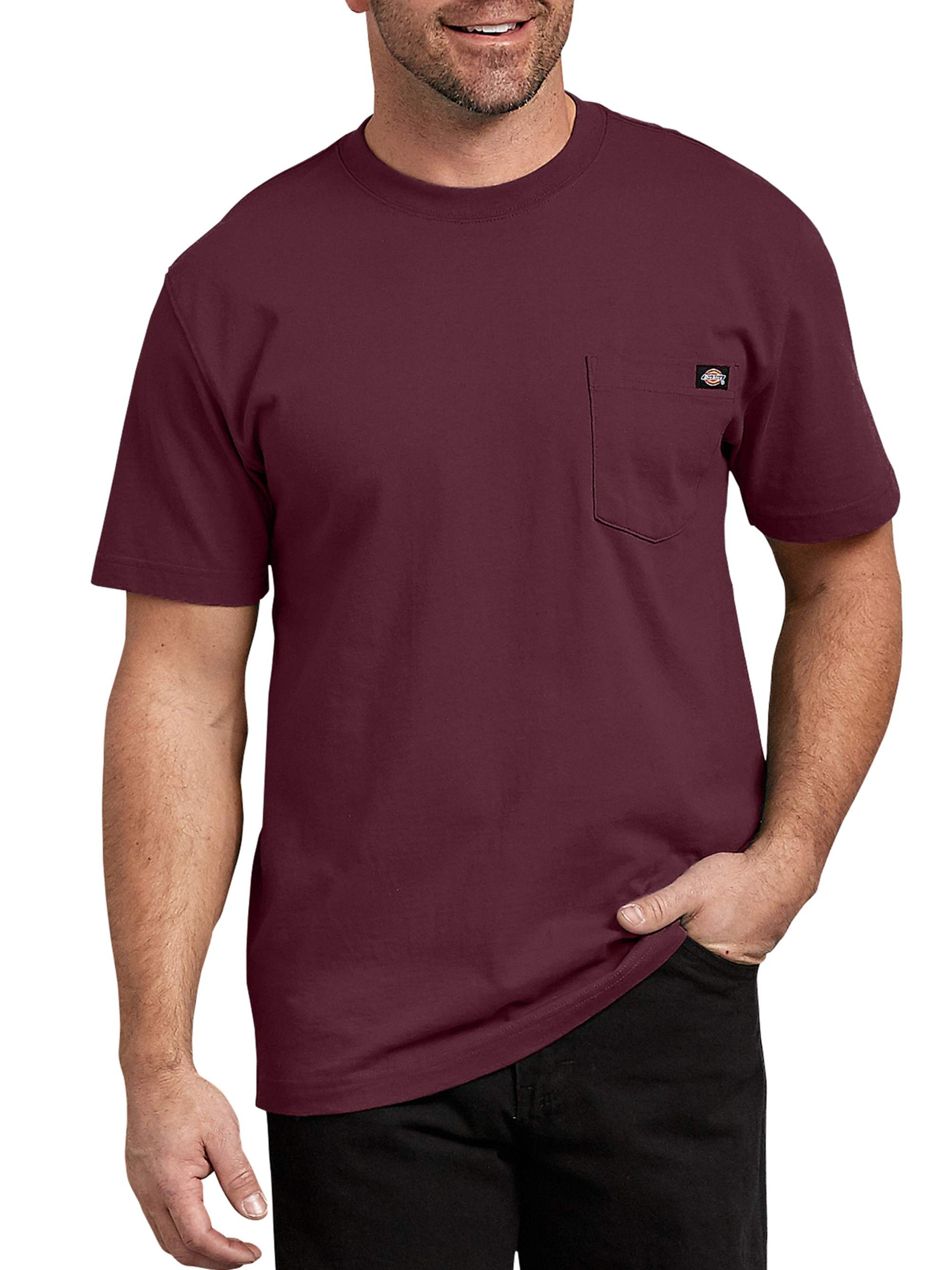 Mens Short Sleeve Heavyweight Tee, Souther Fall - M