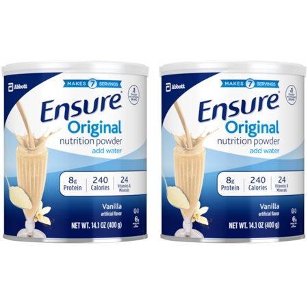 Ensure Nutritional Supplements (2 Pack Ensure Original Nutrition Powder Supplement Vanilla 14oz)