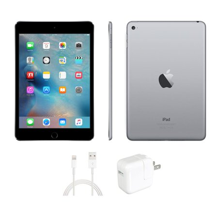 Refurbished Apple iPad Mini 4 16GB Wifi Space Gray (Excellent (Ipad Mini 2 Ipad Mini 4 Comparison)