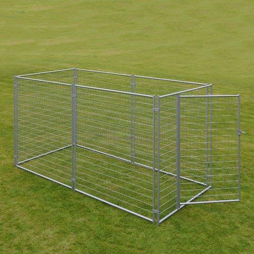 Jewett Cameron Lucky Dog  Welded Wire Yard Kennel