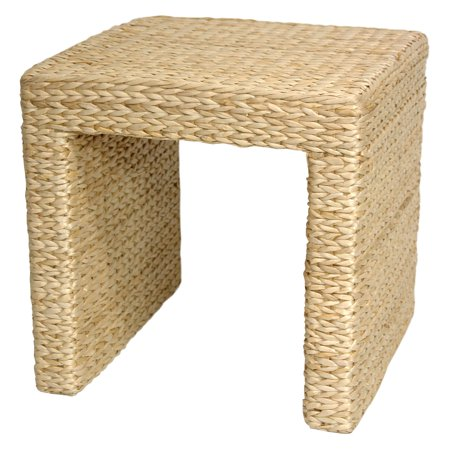Oriental Furniture Rush Grass End Table ()