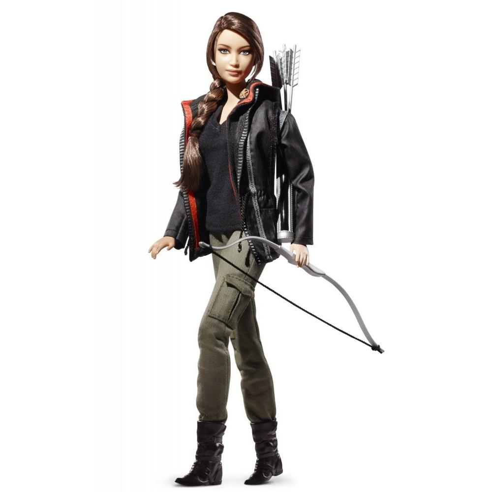 Barbie Collector Hunger Games Katniss Barbie Doll