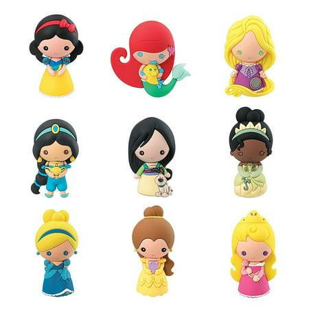 Disney Key Cover (Key Chain - - 3D PVC Foam Collectible DIsney Series 9 Princess 86090)